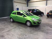 2013 Vauxhall corsa 1.2cc 1 owner low miles cheap insurance guaranteed cheapest in country
