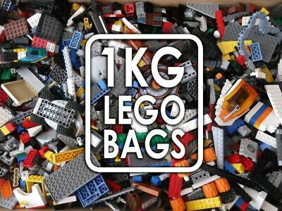 Genuine Lego Bundle 1kg Mixed Bricks Parts Pieces. Starter Set Bulk JobLot