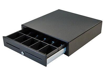 Apg Vasario 16 Black Cash Drawer Pos Printer Interface Vb320-bl1616 New