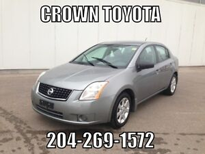 AS IS/AS TRADED 2009 NISSAN SENTRA 2.0S CVT! LOCAL TRADE IN @ C