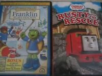 Franklin or Thomas and friends dvds