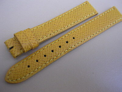Bracelet ancien cartier en cuir pour montre entre corne 14,8 mm