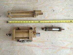 3 pneumatic air cylinders