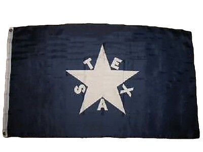 Texas Republic Lorenzo De Zavalla Zavala Independence 3x5 Flag House Banner