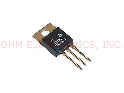 Motorola Mc7818ct 18v Volt 1a Amp 3 Pin Positive Voltage Regulator