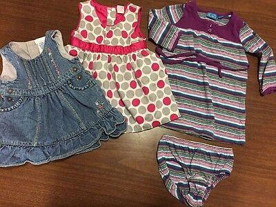 6-9 Month Baby Girl Dress Lot OshKosh Children