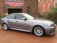 BMW 5 SERIES 520D M SPORT (grey) 2009