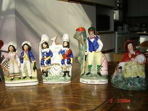 Handpainted Staffordshire Figurines