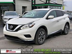 2015 Nissan Murano S | Navigation, Htd Seats, Rear Camera