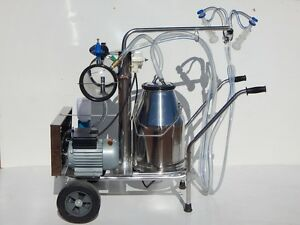 Portable Goat/ Sheep Electric vacuum pump milking machine Eudunda Goyder Area Preview