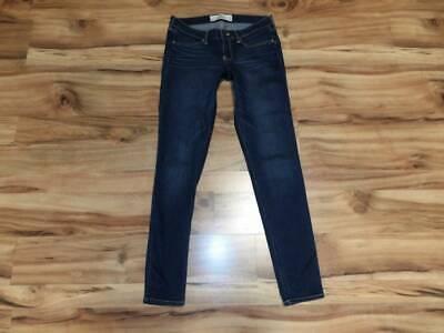 womans juniors size 7 7R Hollister jeans skinny pants 28X29 28 X 29 7 Jeans Womens Juniors Pants