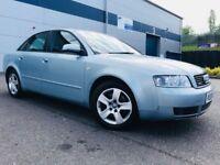 2004 Audi A4 1.8T TURBO SE Saloon 4dr Petrol Manual Quattro (190 bhp) 10 MONTHS MOT - BARGAIN 4WD