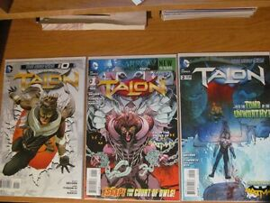 Talon Completed Issues #1-12 With Exta Batman Court of Owls