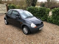 FORD KA 1.3 ONLY DONE 17,000 MILES (black) 2006
