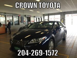 2014 LEXUS ES350 V6! LOCAL VEHICLE WITH VERY LOW KMs! @ CROWN T