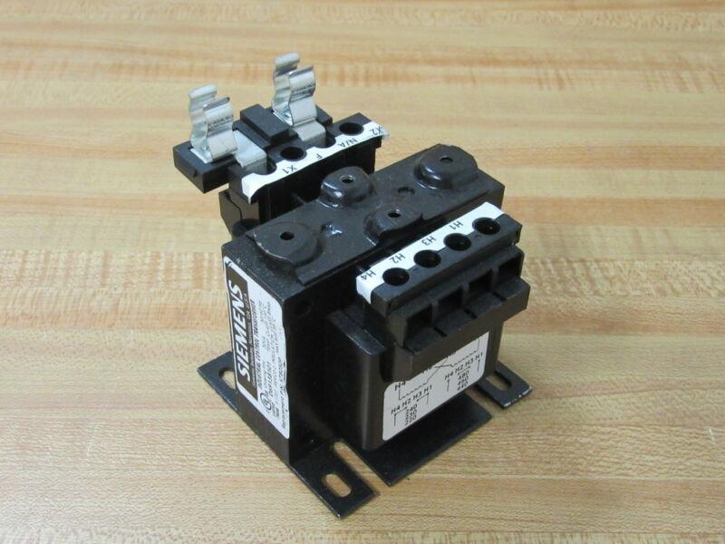 Siemens KT8050P Transformer W/1 Fuse Holder