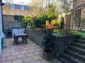 Fantastic and large 3 bedroom garden flat with two bathrooms, between Swiss Cottage and Hampstead