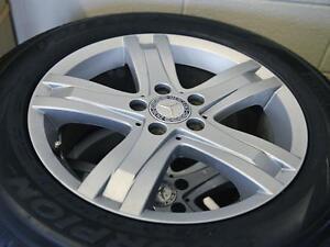 "Mercedes GLK original 17"" Rims and Pirelli Tires"
