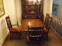 Dinning Room set with Buffet and Hutch