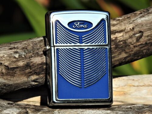 Zippo Lighter - Ford Motor Company - Ford Grill - Oval - Mustang - Trucks - Rare