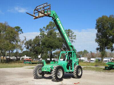2013 Jlg Skytrak 6042 42 6000lb Telescopic Reach Fork Lift Telehandler Bidadoo