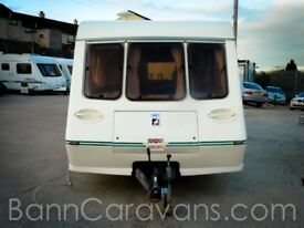 (Ref: 848) Fleetwood Garland 165 5 Luxe 5 Berth Free Awning