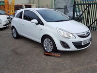 VAUXHALL CORSA 1.0 3 DOOR MANUAL PETROL IN WHITE GREAT FIRST CAR (white) 2011