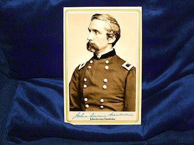 JOSHUA LAWRENCE CHAMBERLAIN Cabinet Card Photo Vintage Civil War History