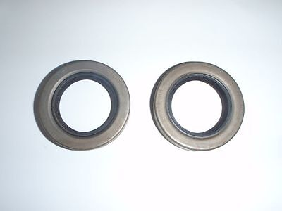 2 Rear Wheel Axle Oil Grease Seals 1955-1964 Oldsmobile - NEW PAIR 1455257