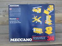 vintage 1975 Meccano Set with reversible motor