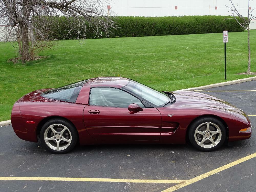 2003 Red Chevrolet Corvette     C5 Corvette Photo 9