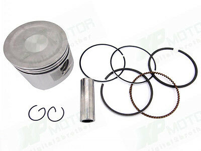 PISTON KIT WITH PIN CLIPS FOR HONDA GX160 G ENGINE 5.5 HP