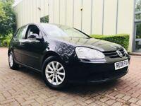 2008 08 Volkswagen Golf 1.6 FSI Match Hatchback 5dr Petrol Manual (113 bhp) 10 SERVICE STAMPS