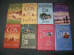 Josephine Cox oversized softcover/ hardcover lot 8 for $15 St. John's Newfoundland image 1