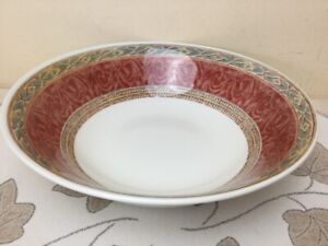 Churchill Jeff Banks Ports Of Call Zarand Large Serving / Fruit Bowl Superb 24cm