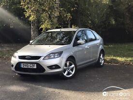 2010 Ford Focus 1.6 5dr ZETEC £4695