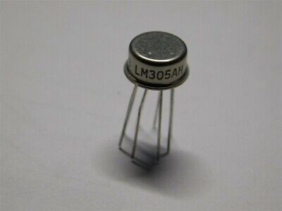 National Electronics Lm305ah Positive Voltage Regulator Ic To-99 Metal Can