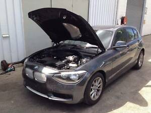 2012 BMW 116i F20 Hatchback Rolling Shell With Panels ETC STAT WR Nerang Gold Coast West Preview