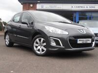 Peugeot 308 1.6 HDI Active 5 Door Hatchback In Grey
