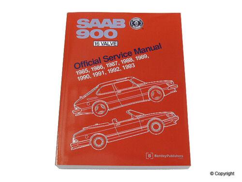 Repair Manual-Bentley Repair Manual WD EXPRESS 989 46002 243 fits 85-93 Saab 900