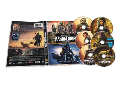 The Mandalorian2&1 DVD, Complete First and Second Sea son 6-Disc Set New