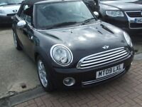 MINI CONVERTIBLE COOPER (black) 2009