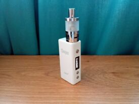GENUINE CLOUPOR MINI PLUS 50W TC E SHISHA BOX MOD + GS L20 MINI TANK PEARL WHITE