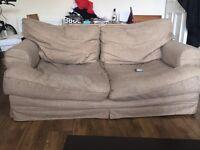 FREE 2 x 2 seater sofa