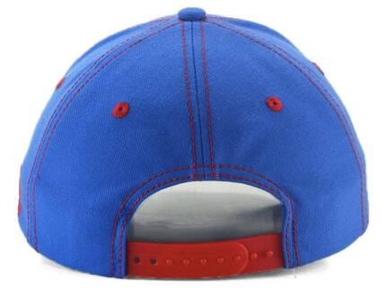 Quebec Nordiques adidas Bar Down Blue Snapback Cap  6717a1b98