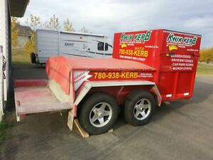 Kwik Kerb Continuous Concrete Edging Franchise For Sale ******* Edmonton Area image 3