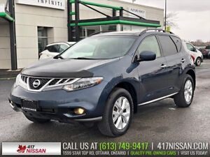 2013 Nissan Murano SL AWD | Pano Sunroof, Leather Htd Seats