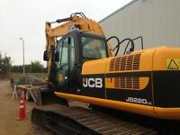 Excavating demolition waterproofing bobcat  loader JCB excavator
