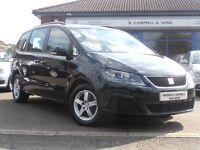 2011 Seat Alhambra S CR Ecomotive TDI 7 Seater In Black