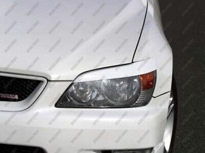 Fiberglass Headlight Eyebrows Eyelids for 98-05 Lexus IS200 IS300 Altezza #C